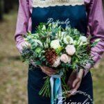 Свадебный букет в Новосибирске Primula