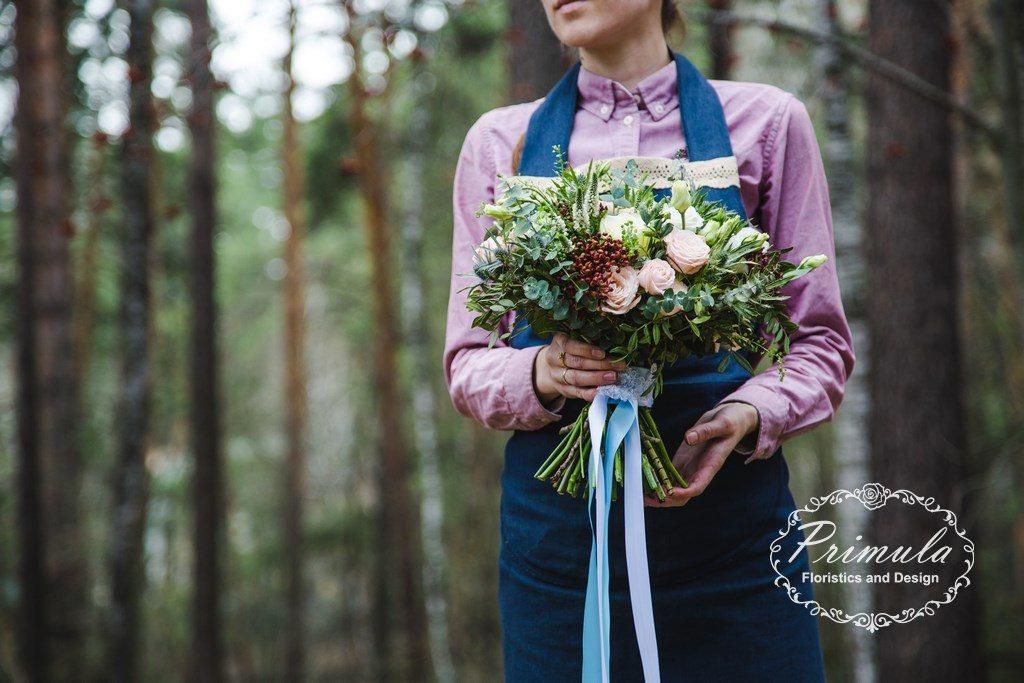 Букет невесты стиль Botanic