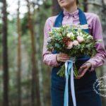Букет невесты стиль Botanic Новосибирск
