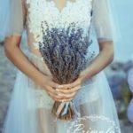 Букет невесты с лавандой Новосибирск
