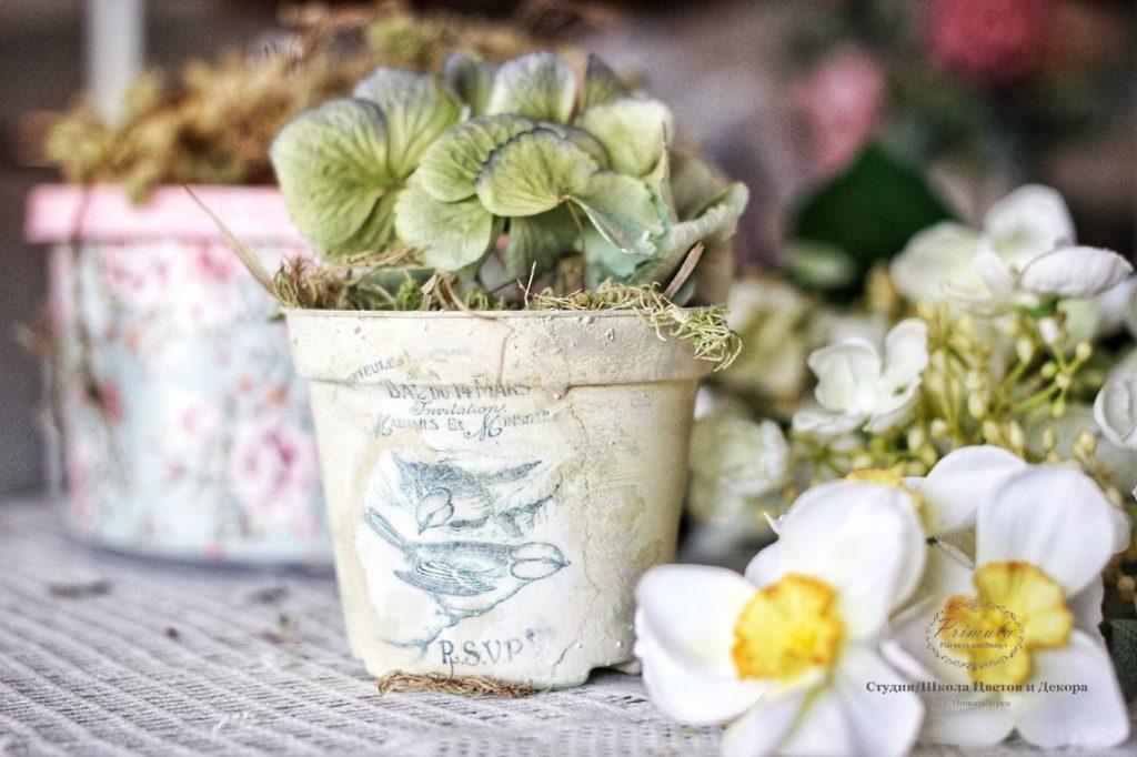курсы по флористике и декору
