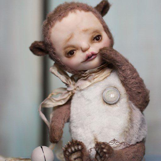 Тедди долл мишка от Марики Шмидт