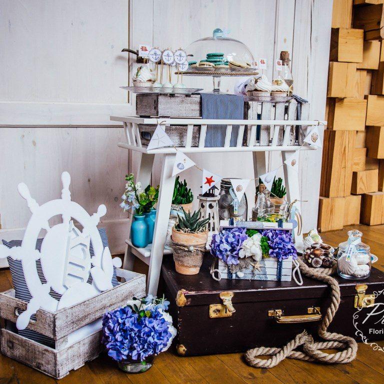 Фото зона, сладкий стол в Новосибирске